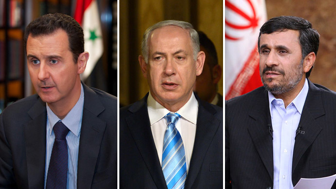 With Assad in, and Ahmadinejad out, where does that leave Netanyahu?