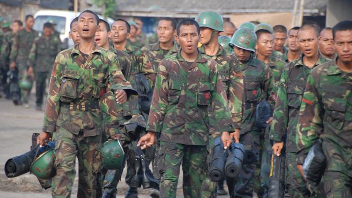 Indonesia – torn apart, but glorified by Washington