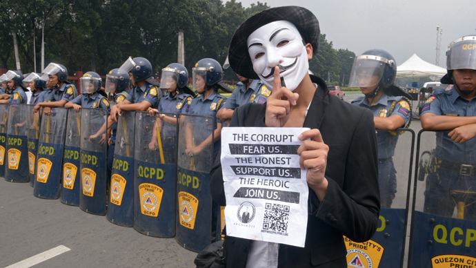 We get more people 'activated' – Anonymous activist