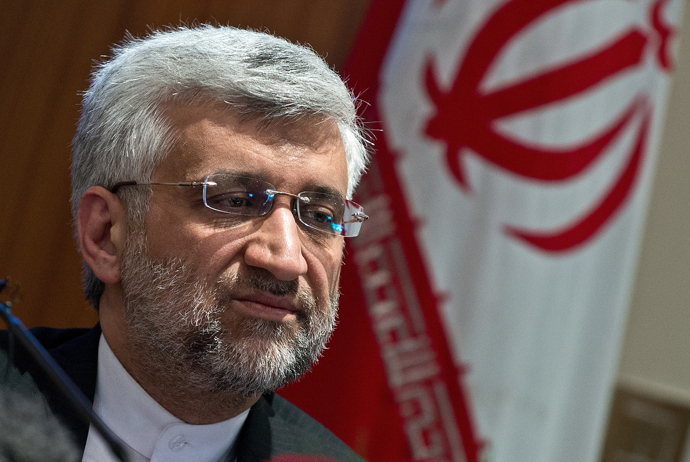 Iran's Supreme National Security Council Secretary and the country's chief nuclear negotiator Saeed Jalili (AFP Photo)
