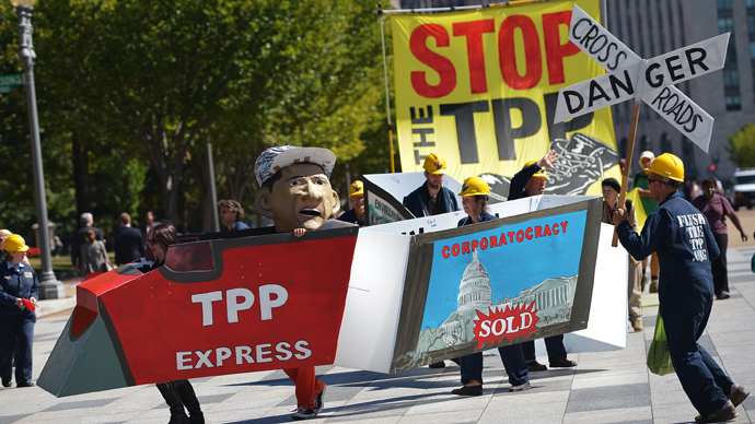 TPP: From corporation personhood to corporate nationhood