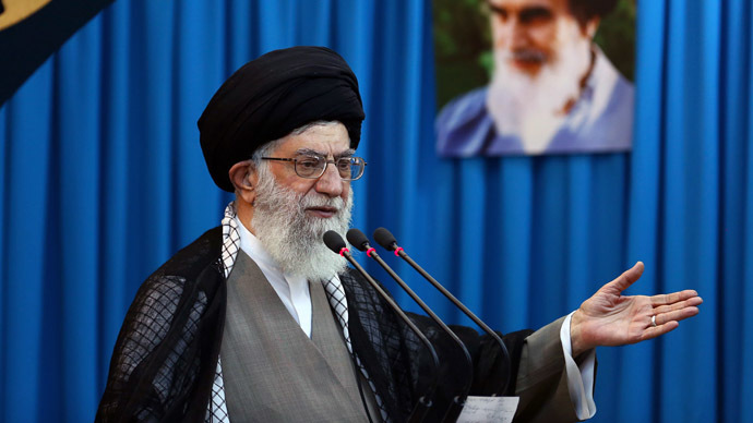 Iran's supreme leader, Ayatollah Ali Khamenei (AFP Photo)