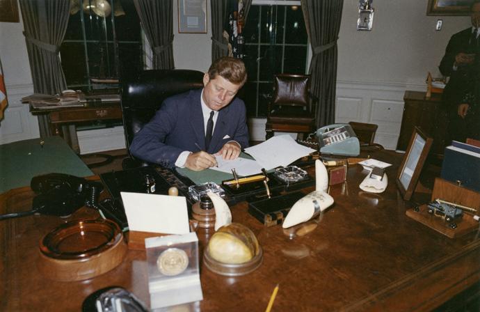 Former U.S. President John F. Kennedy (Reuters / Cecil Stoughton)