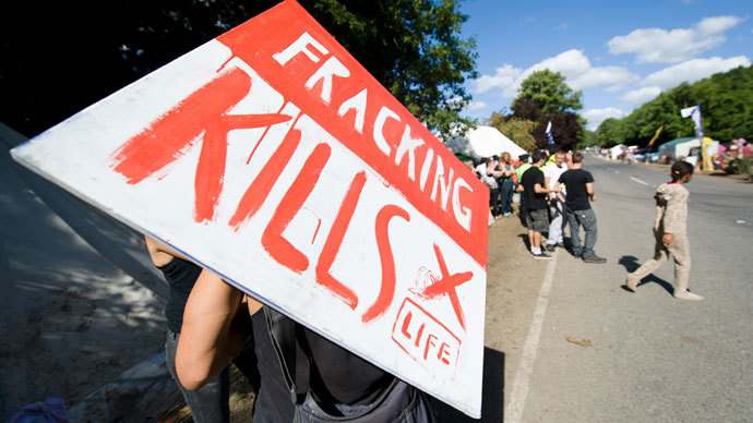 UK govt, fracking industry 'feathering each other's nests'