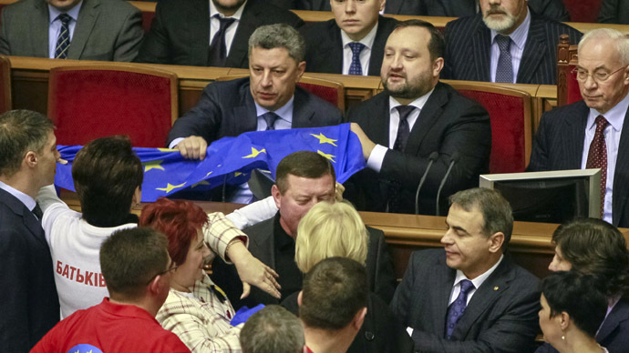 EU trade deal would be Ukraine's 'ticket for the Titanic'