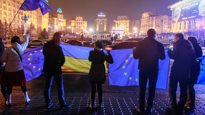 Ukraine refused to 'sign a suicide note', sending the EU's 'geopolitical project' onto the rocks
