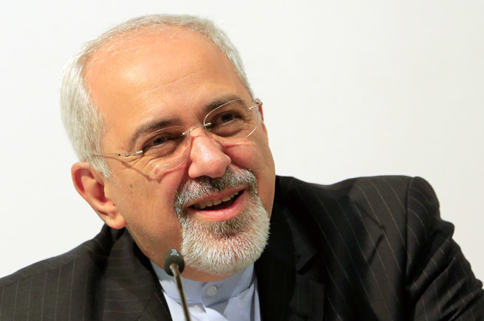 Iranian Foreign Minister Mohammad Javad Zarif (AFP Photo)