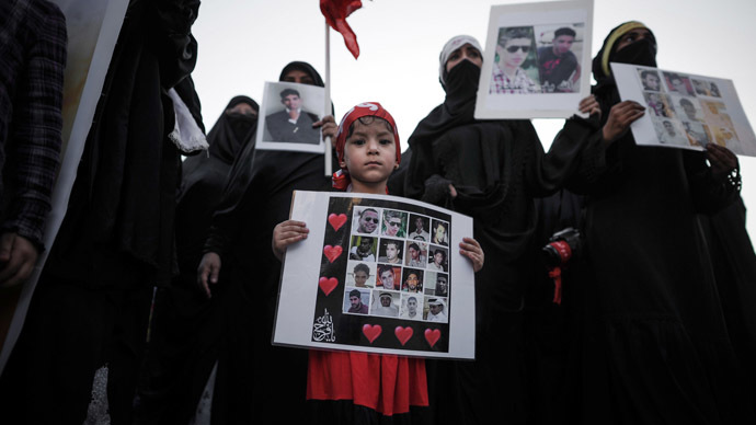 Bahrain will release political prisoners 'only if pressured by US and UK'