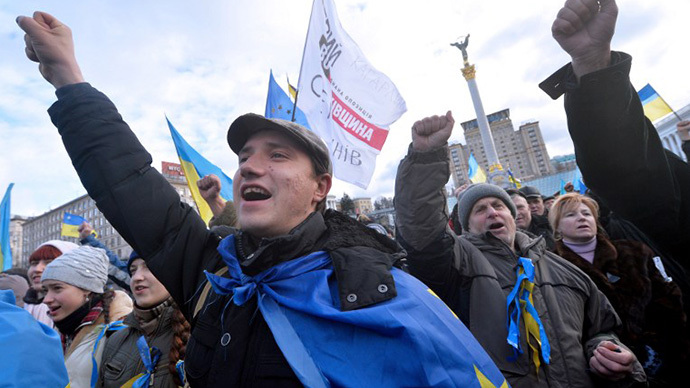 'No going back for Yanukovich now'