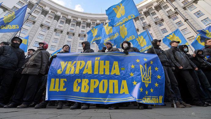 Ukrainian opposition wouldn't sign 'suicidal' EU agreement
