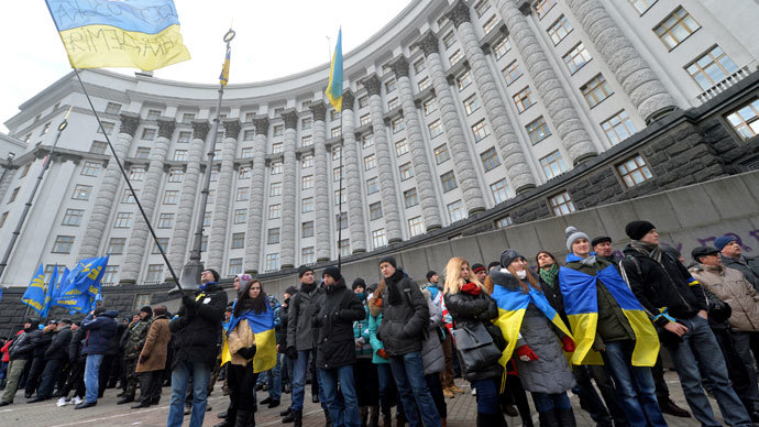 'Sizeable proportion of Ukrainians would resist another Orange Revolution'