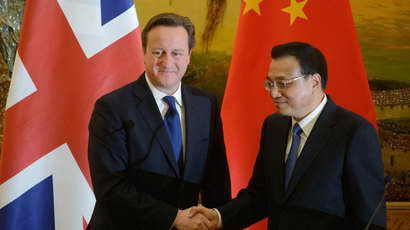 Cameron visit accepts China's new superpower status