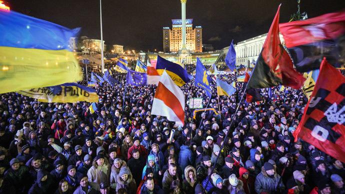 'It's about democracy': EU delegation urges Ukraine protesters to seek referendum