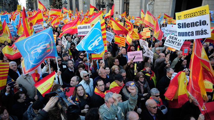 Catalonia independence? Spanish Civil War redux not an option