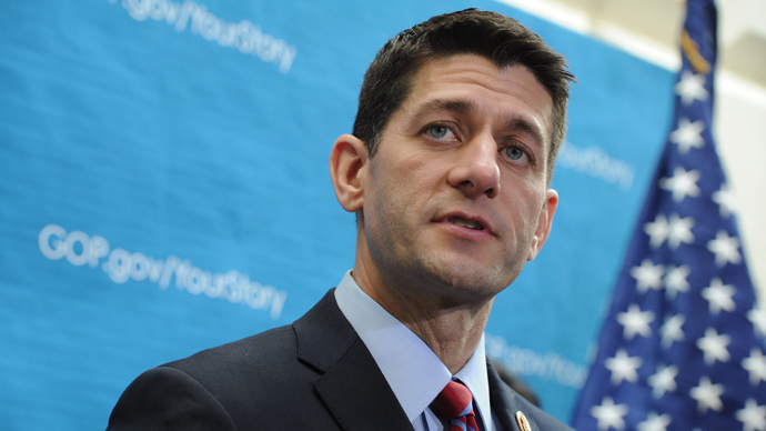 Chairman of the House Budget Committee Rep. Paul Ryan (AFP Photo)