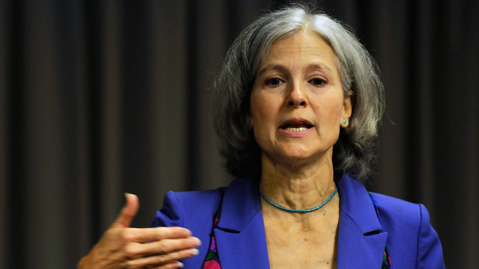 Jill Stein: US faces 'political problem' in tackling violent gun crime