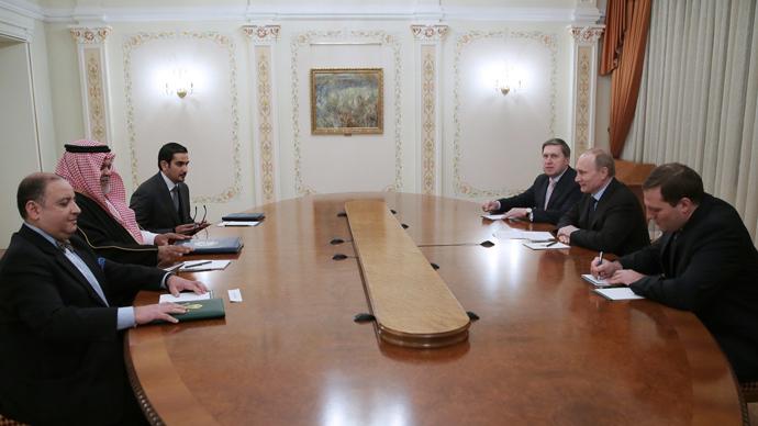 It's Putin vs Bandar Bush on the Syrian chessboard