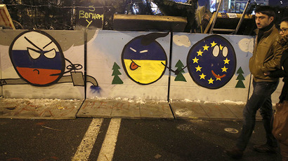 Euromaidan: The new club of Russia haters