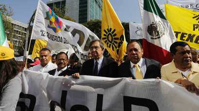 Protests fail to stop Mexico's oil reform, but leftists gain ground