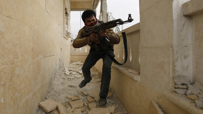 ​'Suspension of military aid to Syrian rebels is pure rhetoric'