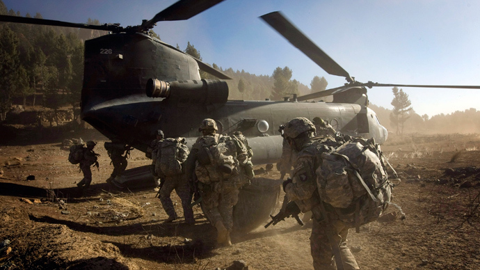 'US to continue its colonial exercise in Afghanistan'