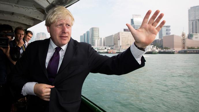 London Mayor Boris Johnson (Reuters / Tyrone Siu)