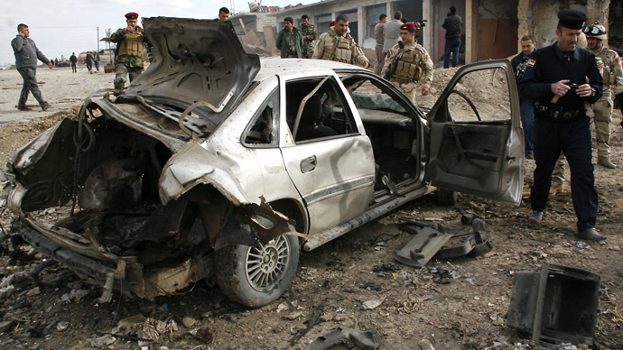 'There doesn't seem to be an end to the violence in Iraq'