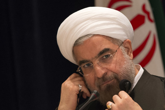 Iran's President Hassan Rouhani (Reuters/Adrees Latif)