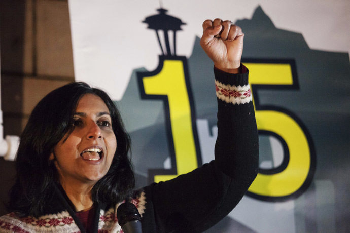 Kshama Sawant (Reuters/David Ryder)