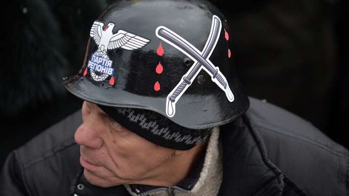 'It's a huge embarrassment for the West to ignore Ukraine's neo-Nazis'