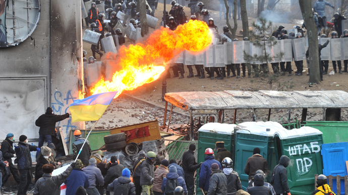 Ukrainian unrest 'is not a democratic process'