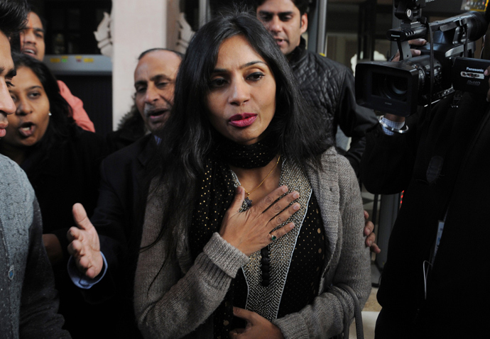 Indian diplomat Devyani Khobragade (AFP Photo / Files)