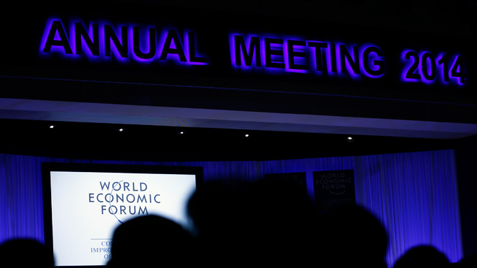 Meanwhile in the shadow world of Davos