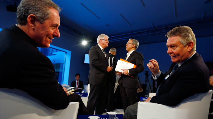 Davos groupthink dangerously out of touch