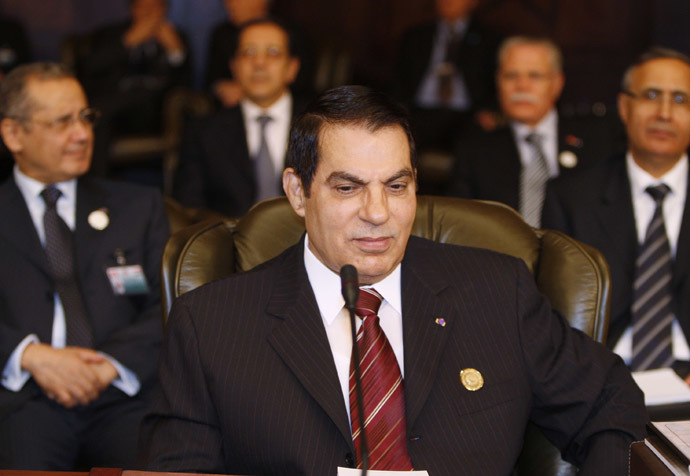 Former Tunisian President Zine al Abidine Ben Ali (Reuters)