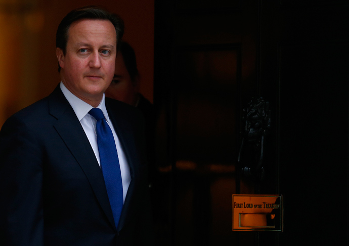 Britain's Prime Minister David Cameron (Reuters / Andrew Winning)