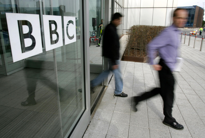 BBC building, in the corporation's West London headquarters (AFP Photo / Carl De Souza)