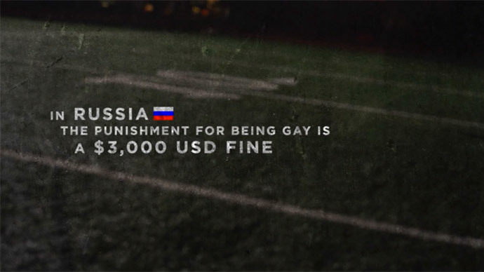 The bigger the lie: Fund-raising video invents '$3000 fine for being gay in Russia'