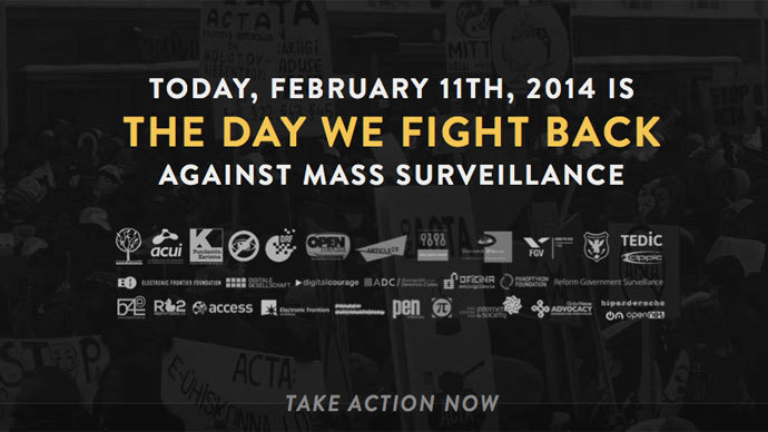 Screenshot from thedaywefightback.org