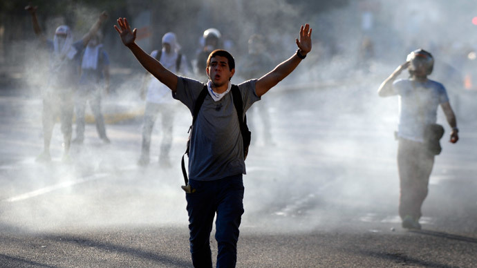 Venezuela's Maduro left alone to deal with protests