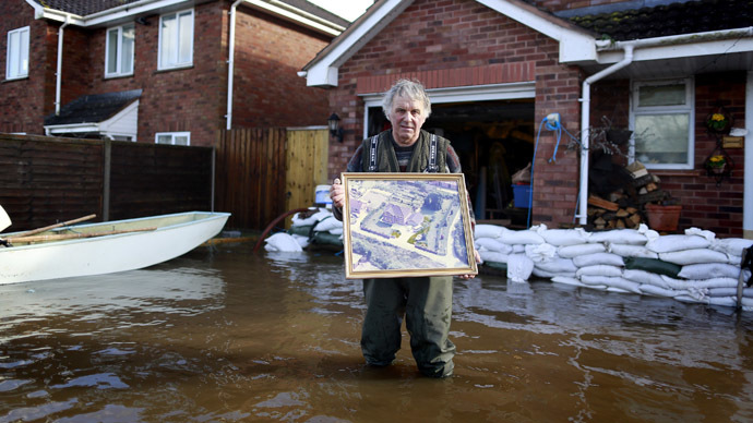 All washed out: What floods reveal about UK political elite