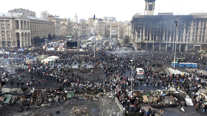 'Opposition leaders should admit they don't control Maidan crowd'