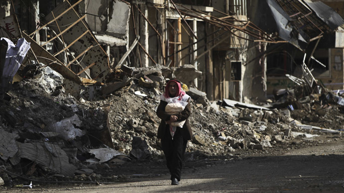 Humanitarian crisis in Syria must be solved 'on the ground'