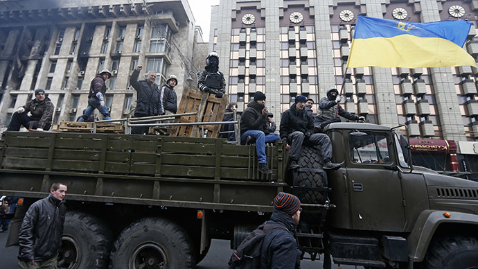 'Radicals seek violence in Ukraine, emboldened by govt's slack response'