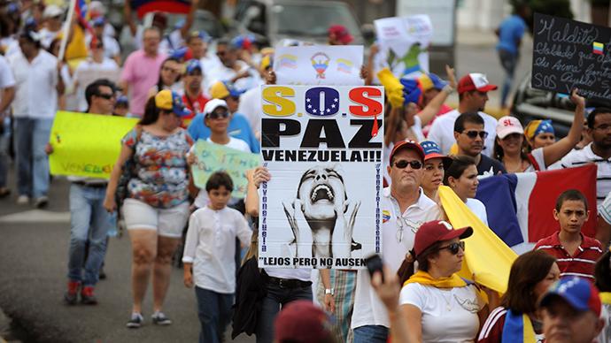 Venezuelan opposition takes cue from Euromaidan?