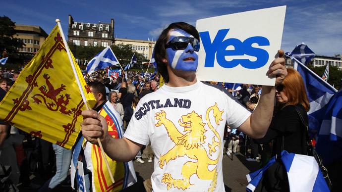 'Westminster's threats and speculation over Scottish independence are unfounded'