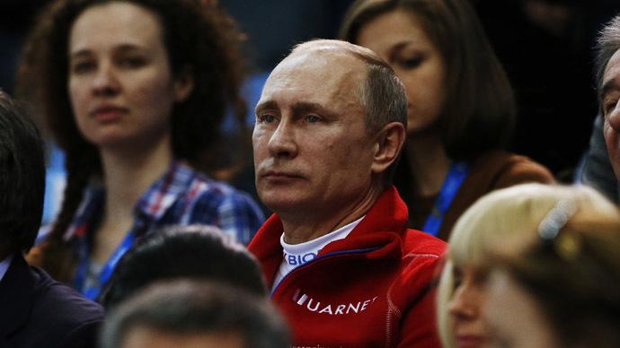 American fits over Putin