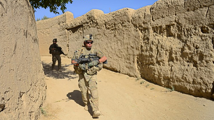 'US to keep its troops in Afghanistan only for intelligence purposes'