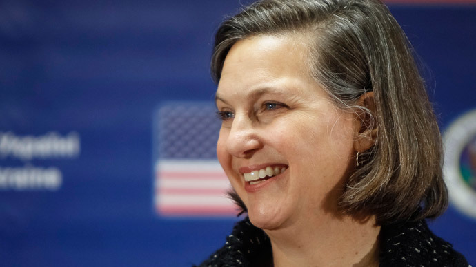 U.S. Assistant Secretary of State Victoria Nuland.(Reuters / Gleb Garanich)