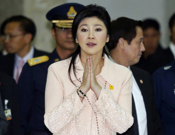 Thailand's Prime Minister Yingluck Shinawatra (Reuters/Athit Perawongmetha)